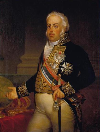 O Príncipe português e o primeiro Imperador francês