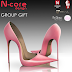 "N-CORE DESIGN - STILETTO ""PALE PINK"""