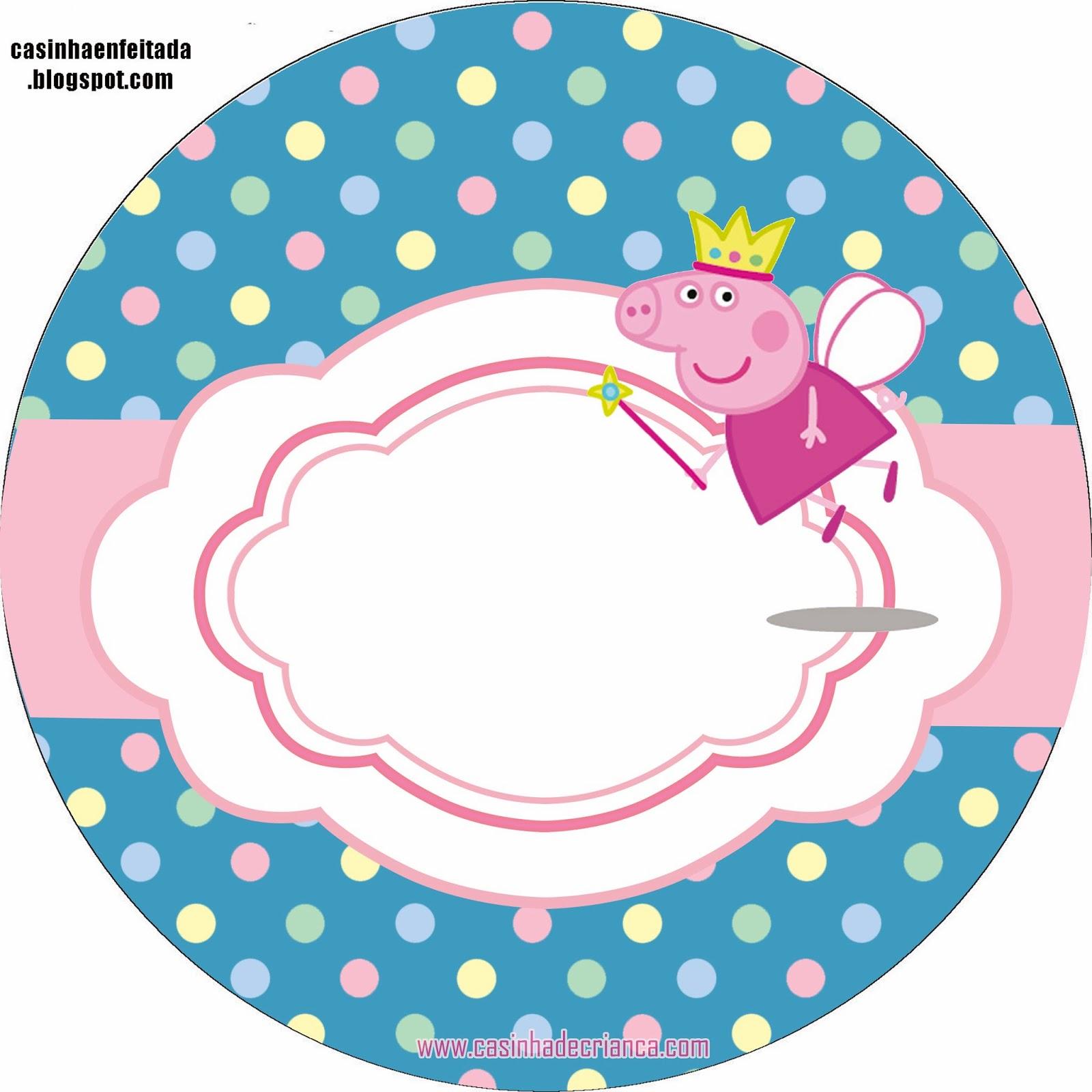Peppa Pig Kit Para Imprimir