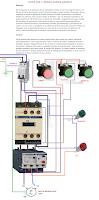 control local y a distancia mediasnte pulsadores motor monofasico