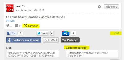 Webdoc - code embarqué