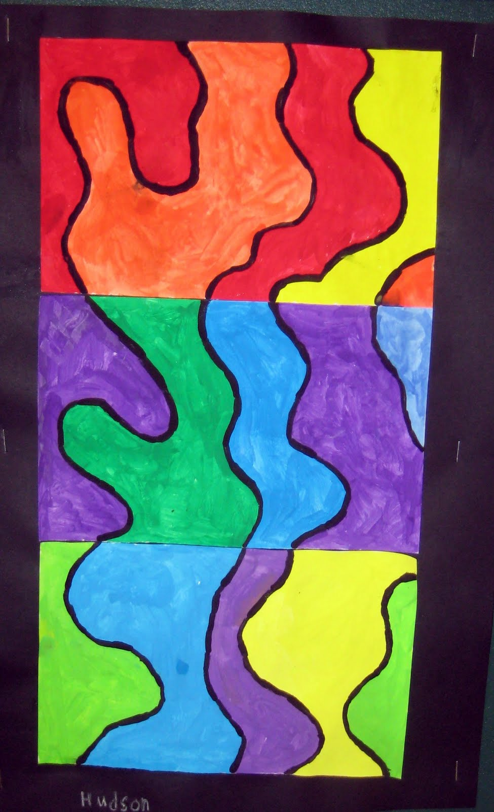 Mrs art teacher o 39 keeffe inspired abstract landscapes for Abstract art definition for kids