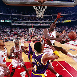 """The Move"" vs Los Angeles Lakers - (NBA Finals 1991)"