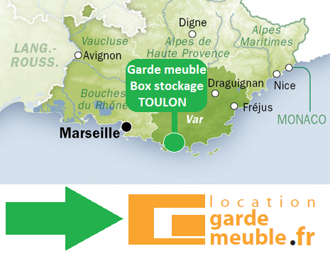 Garde meuble toulon box de stockage toulon 83 for Garde meuble rouen