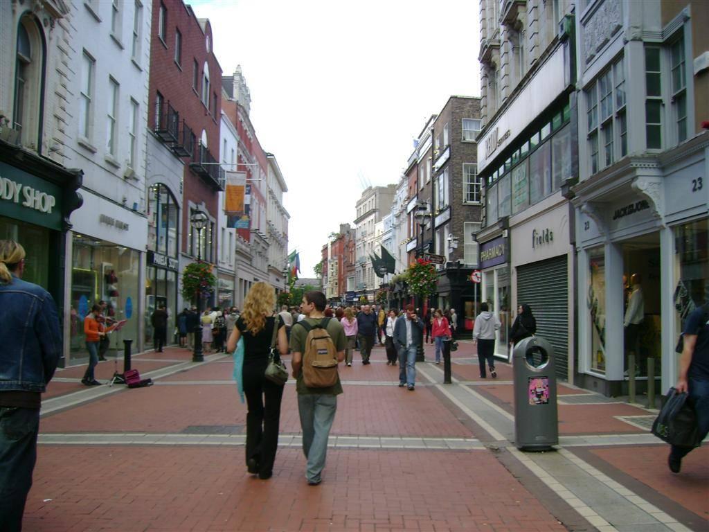 Grafton street dublin ireland