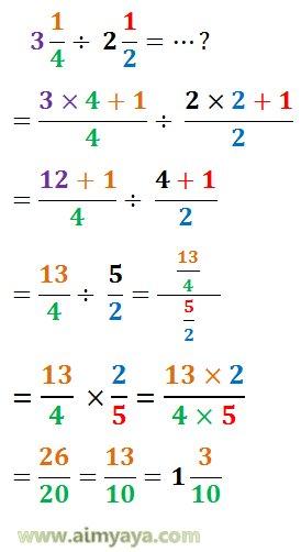 Gambar: contoh soal pembagian pecahan 5