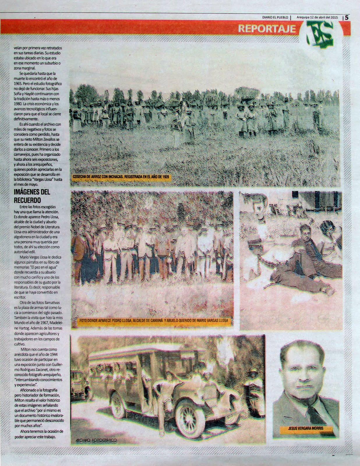 Diario El Pueblo, Suplemento Dominical. 12 de abril 2015 - 03