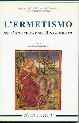 L'ermetismo nell'Antichità e nel Rinascimento