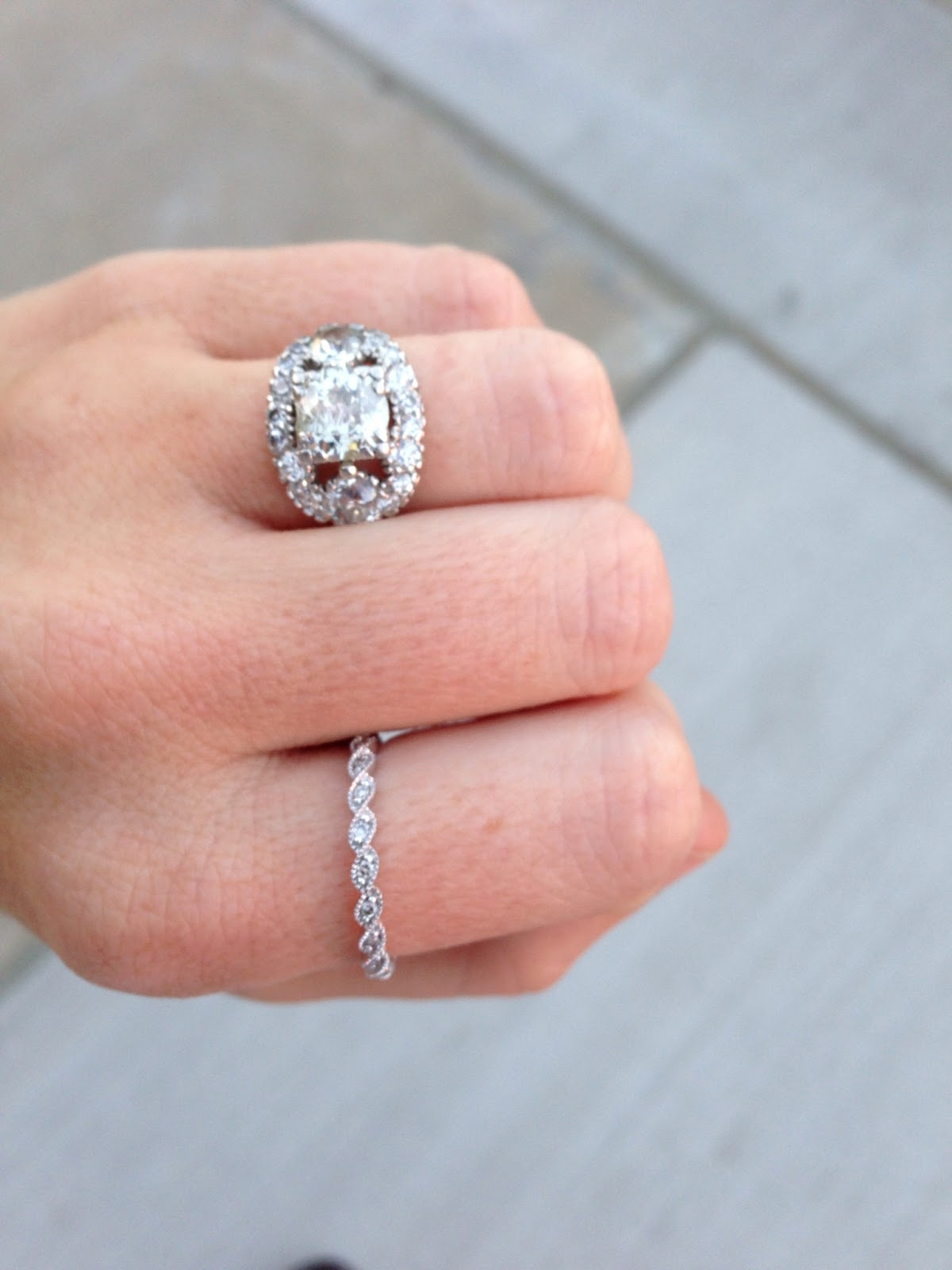 The Story Of My Engagement Ring - Helene in Between