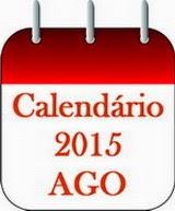 Calendário 2015 das AGO/Aiape