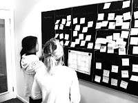 inspired by alexander osterwalder we did a business model workshop