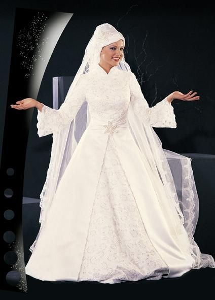 muslima robe mariage avec voile collection 2013 - Mouslima Mariage