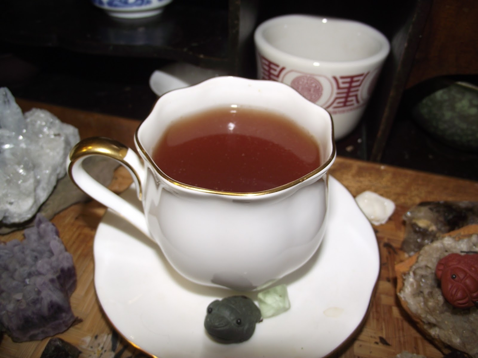 ... and Geekery. : Teaguys: Maple, Bourbon, & Nutmeg (Eggnog) A Tea Review