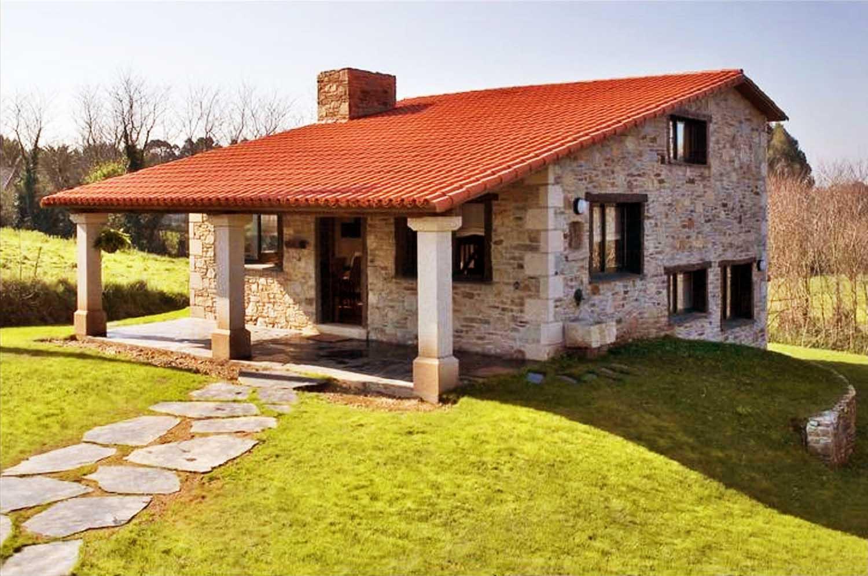 Construcciones r sticas gallegas dos niveles for Modelos de casas rusticas