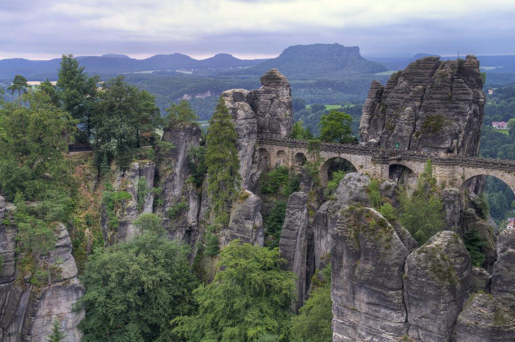 The Bastei Bridge in Saxon Germany by Zubi Travel