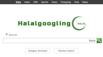 Halalgoogling.com : Mesin Pencarian untuk Orang Muslim
