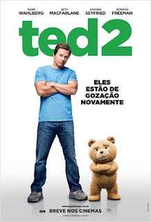 "Poster do filme ""Ted 2"""