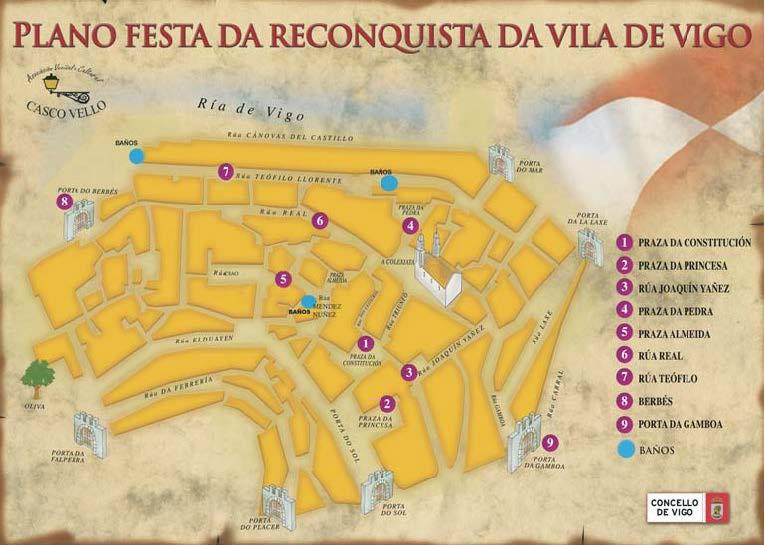 plano fiesta reconquista Vigo 2014