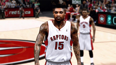 NBA 2K13 Amir Johnson Cyberface Mod