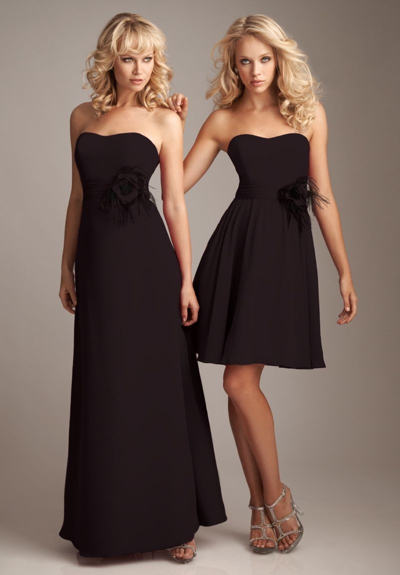 Chocolate bridesmaid dress gallery braidsmaid dress cocktail whiteazalea bridesmaid dresses september 2013 chiffon strapless a line shortlong bridesmaid dress with floral accents ombrellifo ombrellifo Gallery