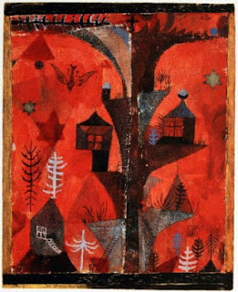 Paul Klee painting - Homes Of The Tree