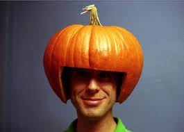funny pumpkin hat