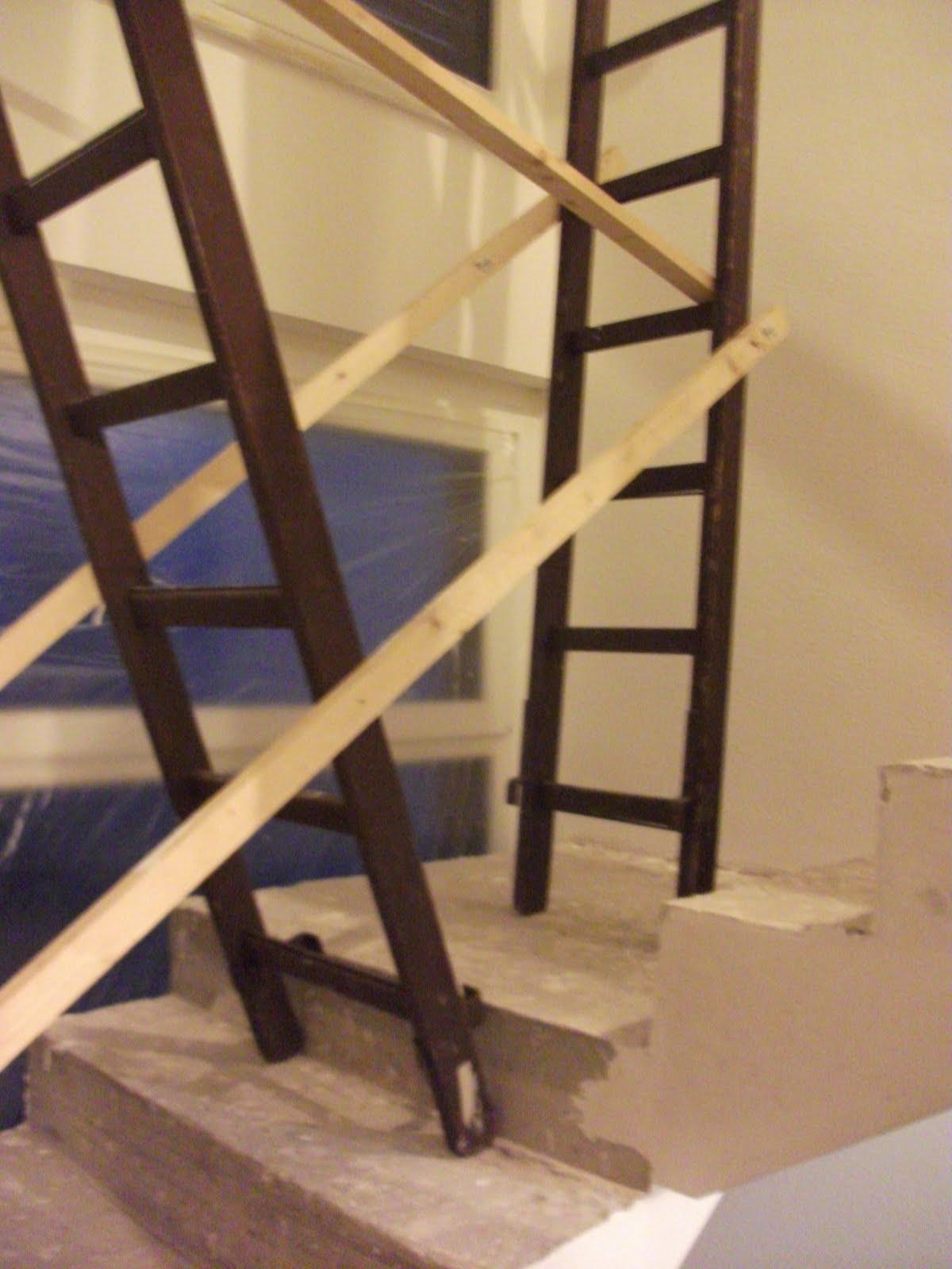 h ausbau rollputz und das abenteuerliche ger st. Black Bedroom Furniture Sets. Home Design Ideas