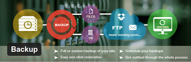9 Must Have Wordpress Plugins in 2015 : Backup plugin Featured image.