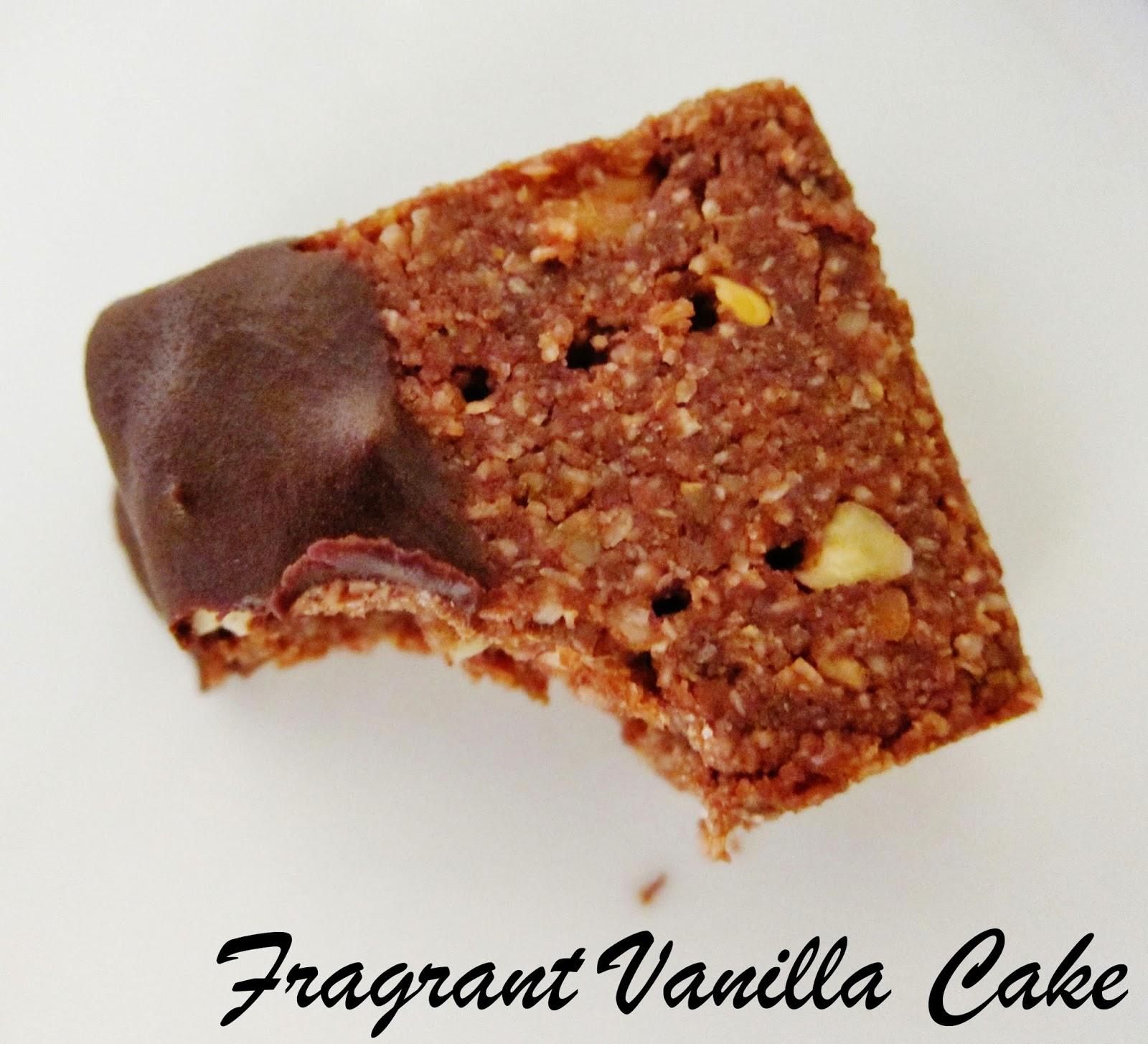 Fragrant Vanilla Cake: Raw Pecan Mocha Shortbread
