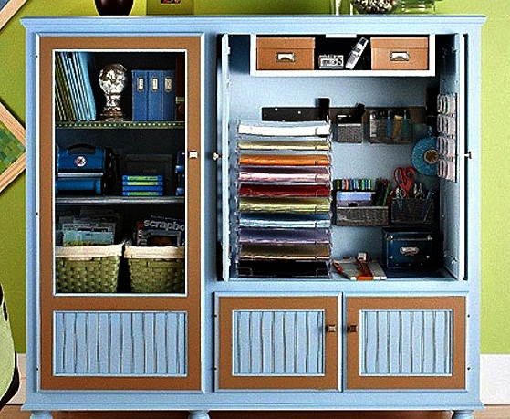 The domestic curator reinvent repurpose recycle for How to reuse an entertainment center