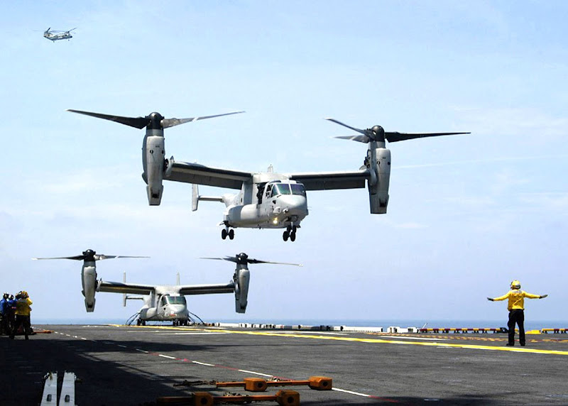 V-22 Osprey Multimission Tilt-rotor Aircraft