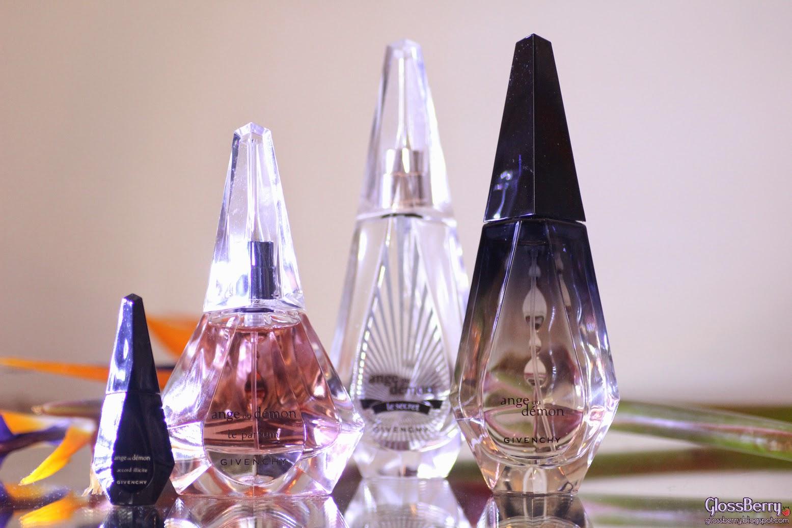 בשמים מומלצים ג'יבנשי גיבנשי אנג' או דמון ange au demon prefumes review glossberry