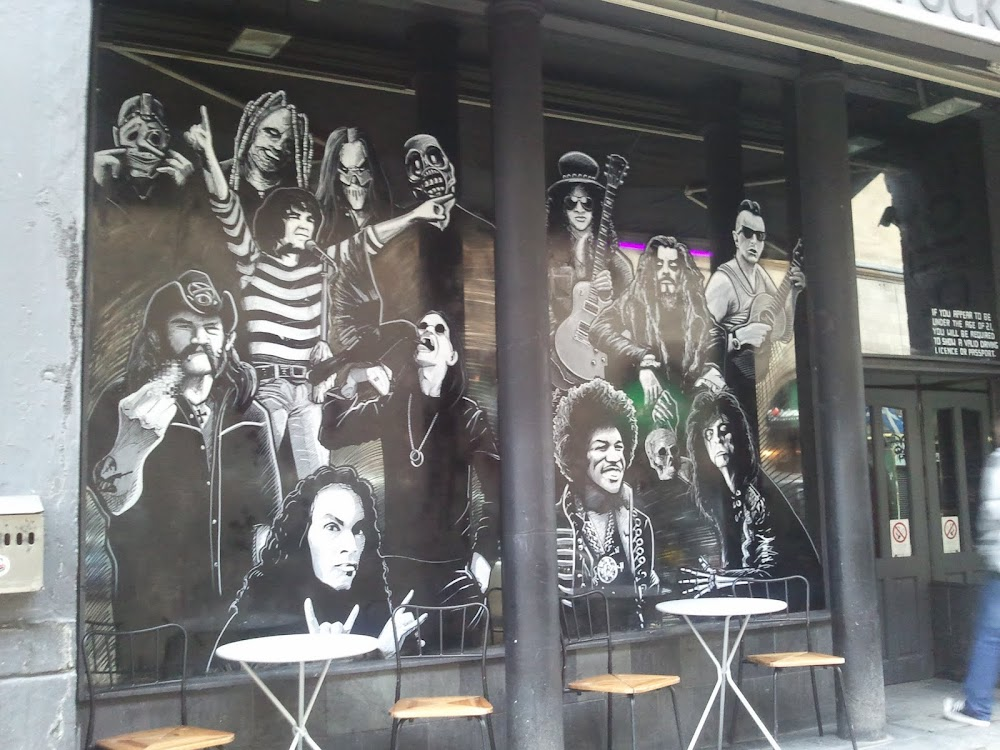 Solid Rock Cafe, Glasgow