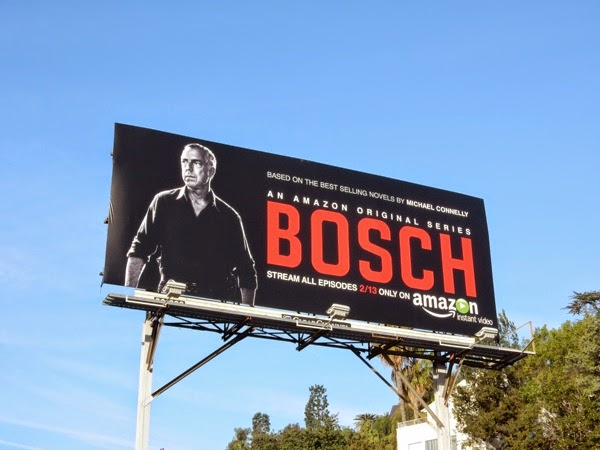 Bosch series premiere billboard