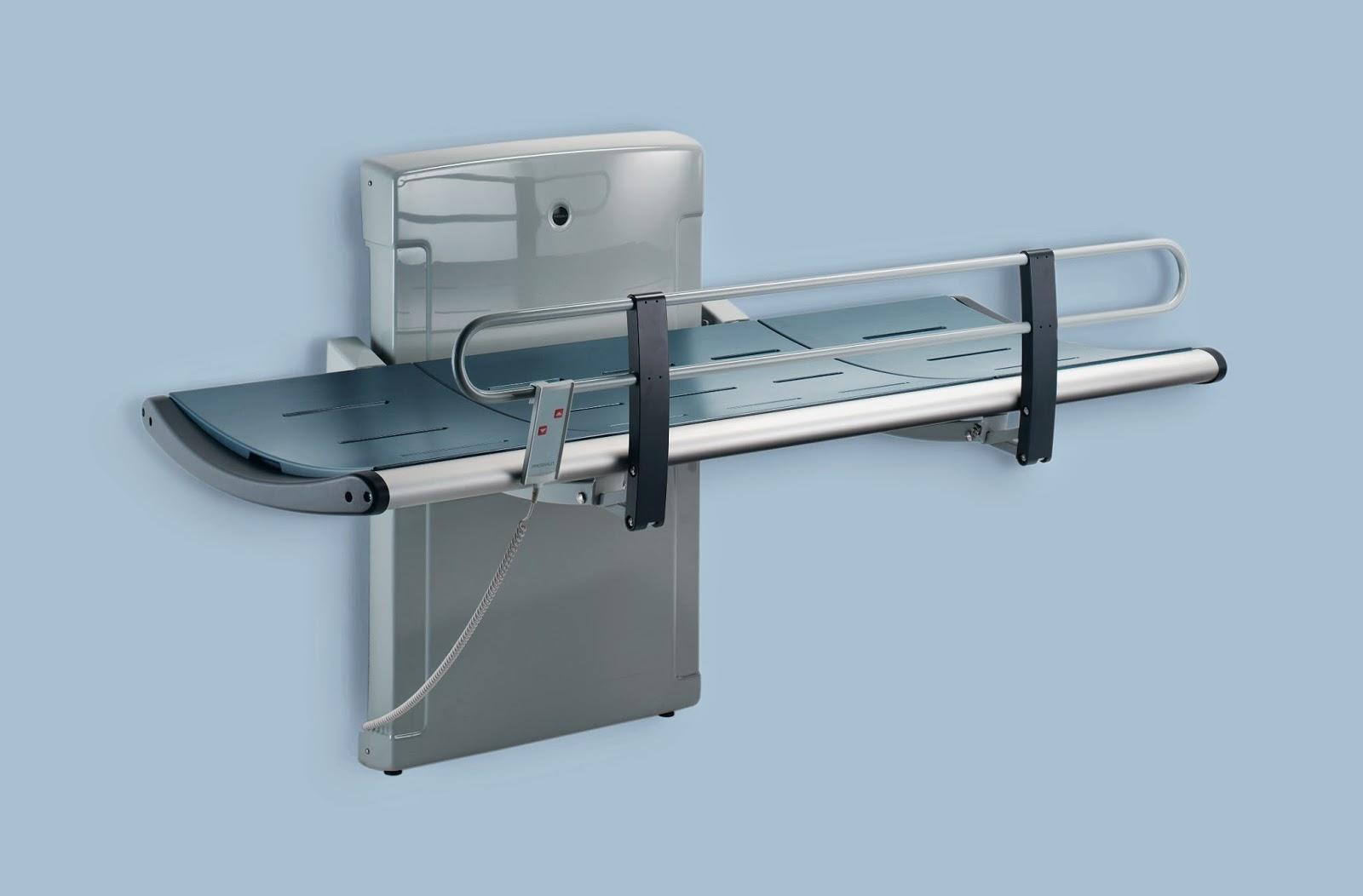 Pressalit R853021 - 3000 Series - Nursing Bench