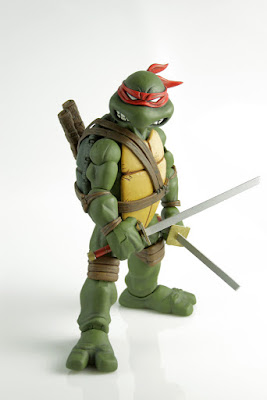 San Diego Comic-Con 2015 First Look: Teenage Mutant Ninja Turtles 1/6 Scale Leonardo Action Figure by Mondo