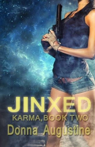 Jinxed, urban fantasy, Donna Augustine, editor, cover