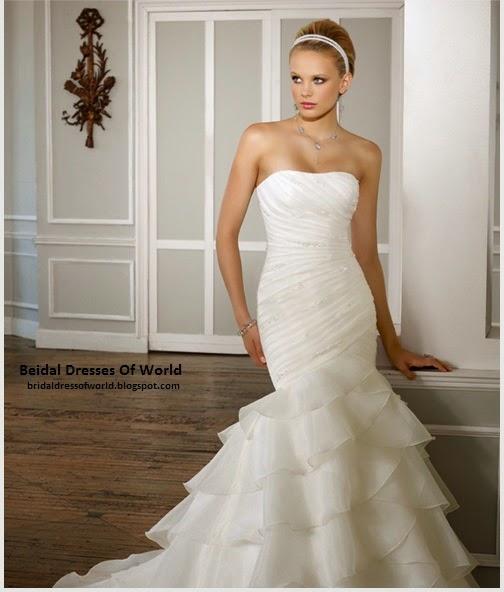 bridal dresses of world july 2014