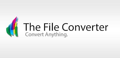 The File Converter v3.26