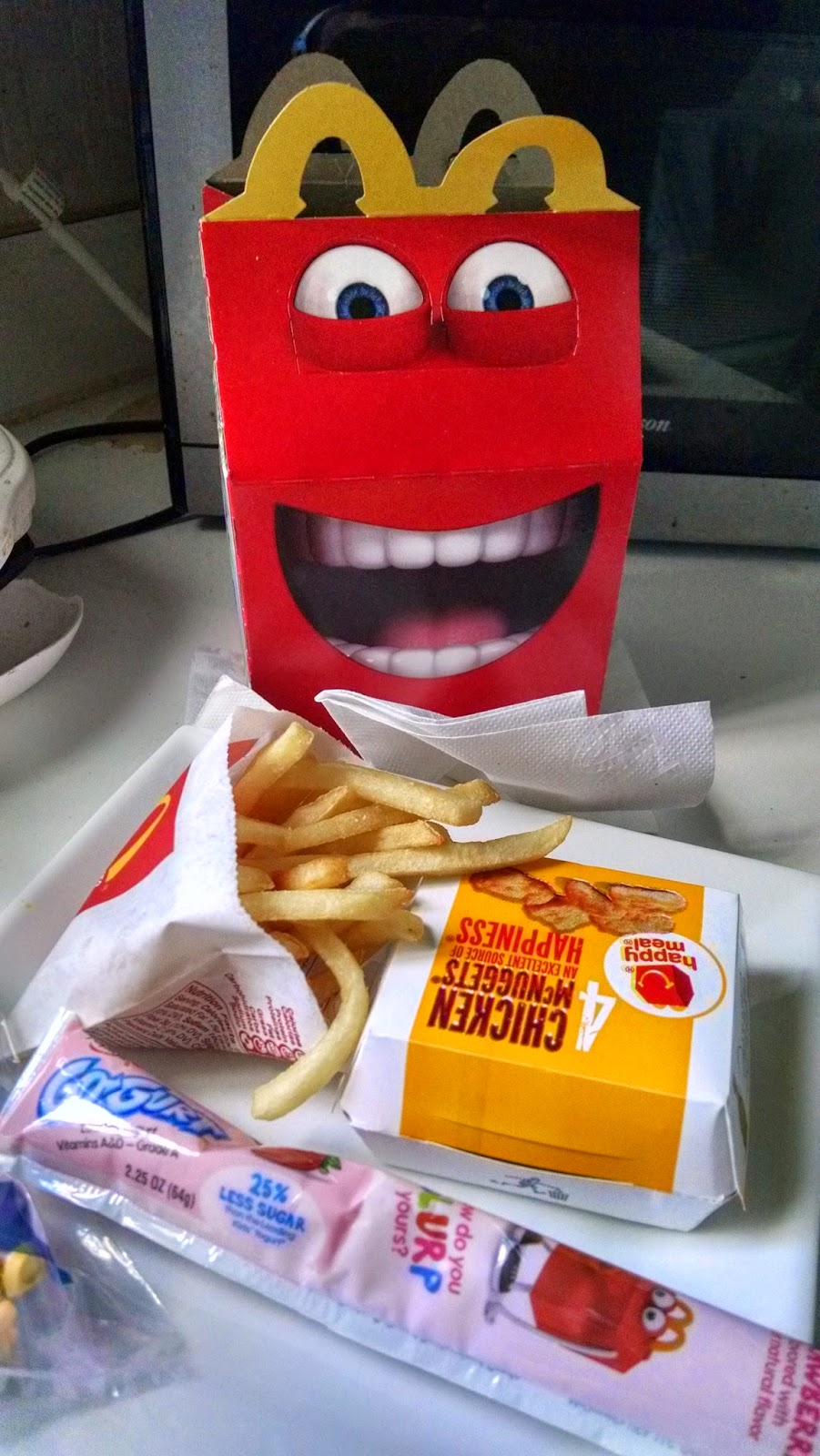 "FREE IS MY LIFE: GIVEAWAY: McDonald's has a new ""Happy ..."
