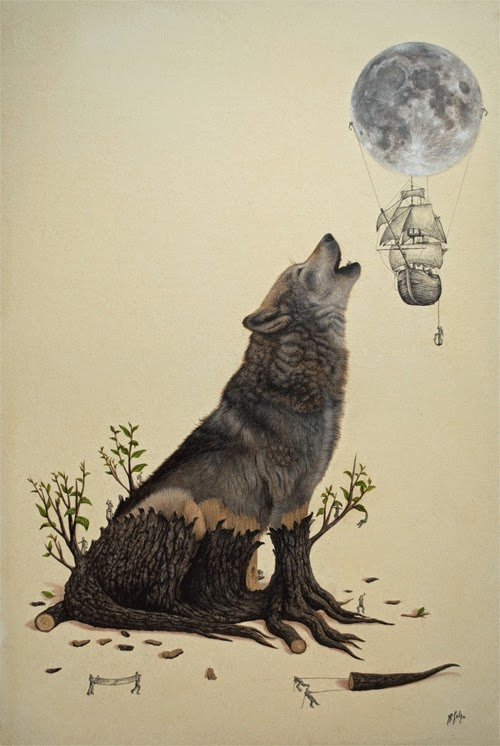 13-Lunary-Attraction-Ricardo-Solis-Animal-Paintings-and-their-Back-Story-www-designstack-co