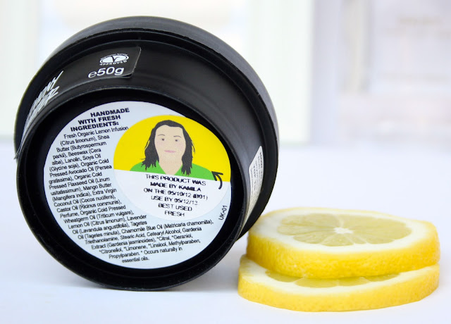Lush Lemony Flutter Cuticle Butter