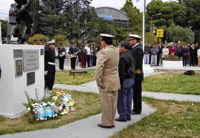 Rawson: Día del Veterano y de los Caídos en la Guerra de Malvinas
