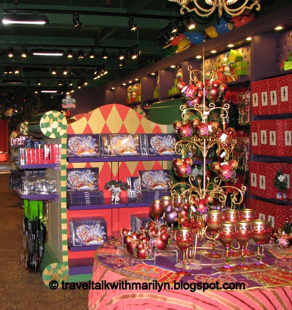 it doesnt matter what time of the year you walk into this store you will feel like it is christmas by the time you walk out - Downtown Disney Christmas