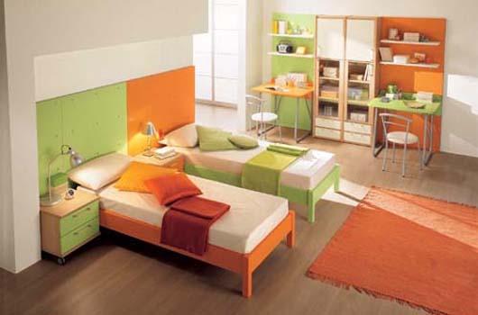 Dormitorios para ni os de dise o minimalista y colorido - Dormitorios infantiles de diseno ...