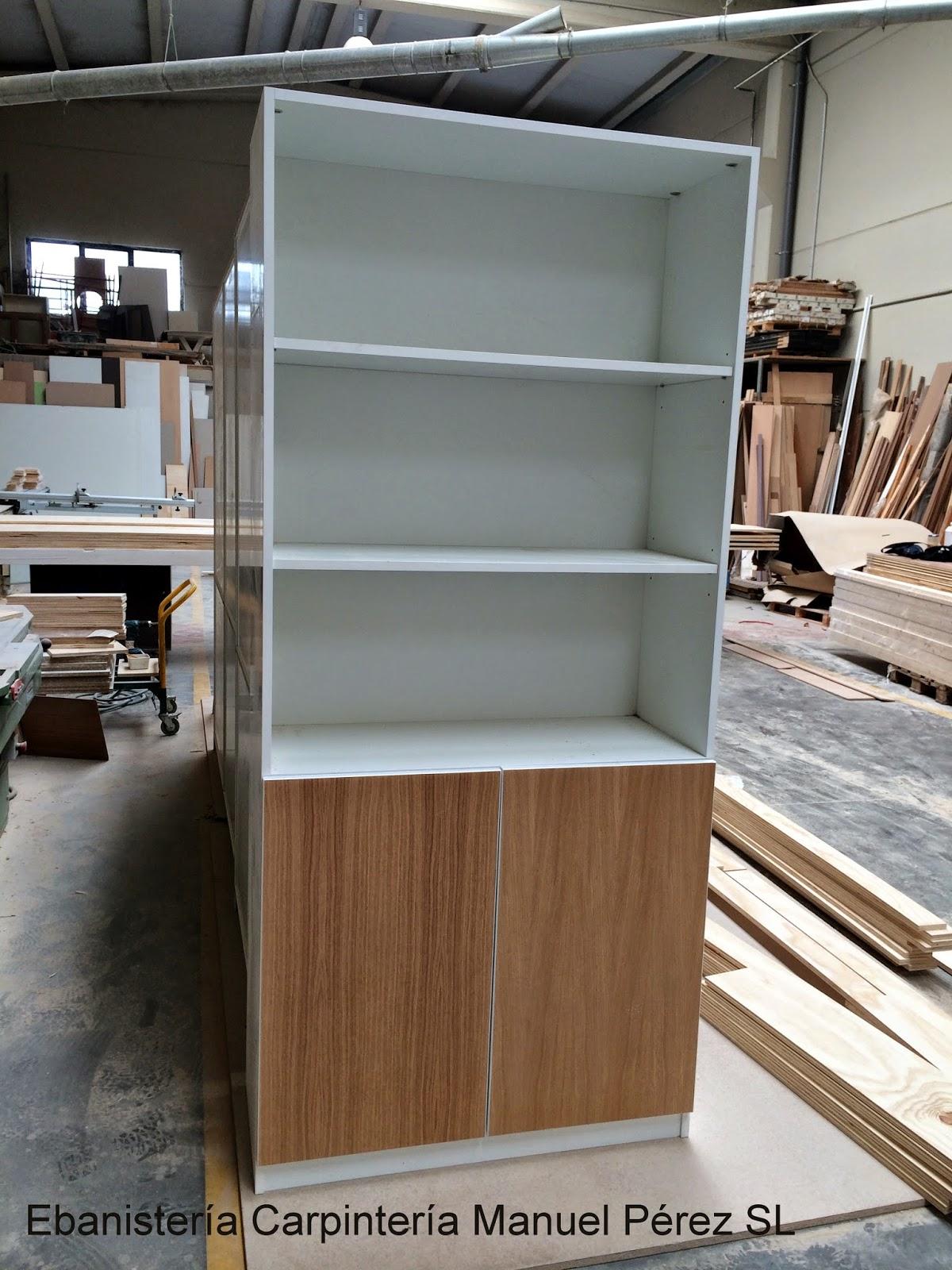 Ebanisteria carpinteria manuel perez zaragoza mueble for Mueble archivador oficina