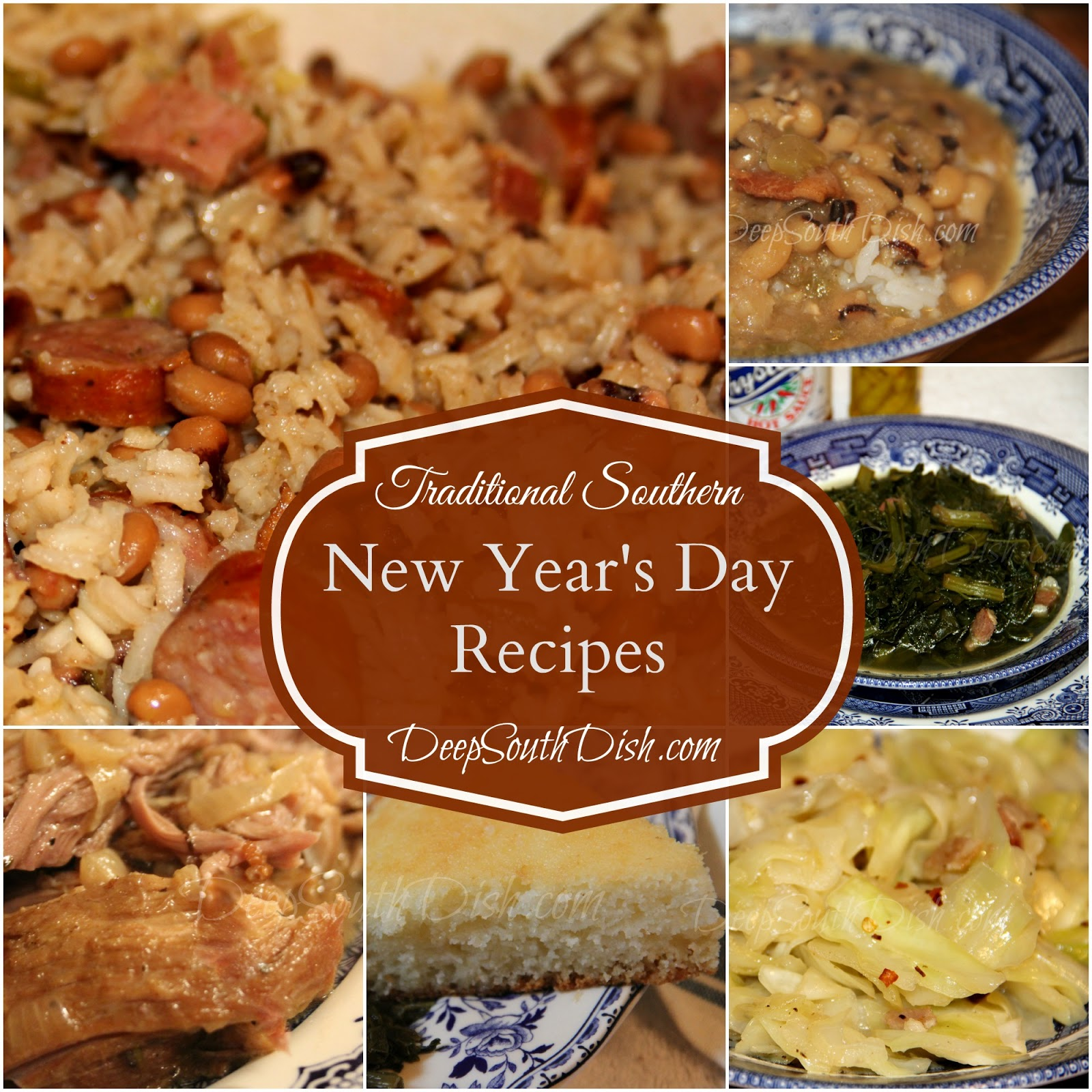 Admirable Deep South Dish Traditional Southern New Year39S Day Recipes Easy Diy Christmas Decorations Tissureus