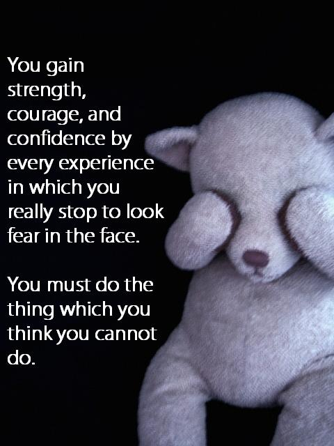 facing your fears Set yourself some clear goals for tackling your anxiety and improving your life then use the methods suggested here to move forward towards your goals facing your.