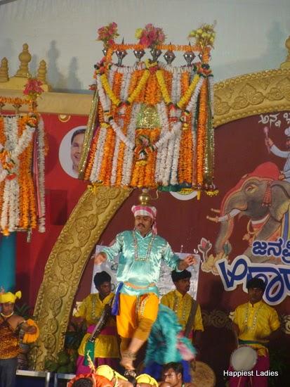 cultural performance ahara mela mysore 1