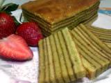 Lapis Legit Green Tea